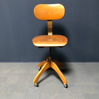 Awesome Industrial Desk Chair By Margarete Klober For Polstergleich 1940S Home Interior And Landscaping Dextoversignezvosmurscom