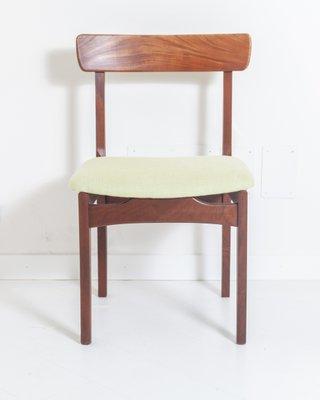 Sedie da pranzo Mid Century in teak, anni '50, set di 6