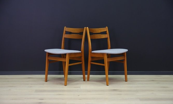 Midcentury Danish Design Chairs Set Of 2 Bei Pamono Kaufen