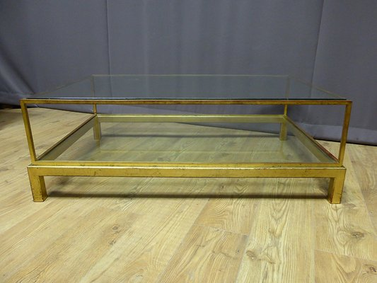 Glass Coffee Table Vintage 4