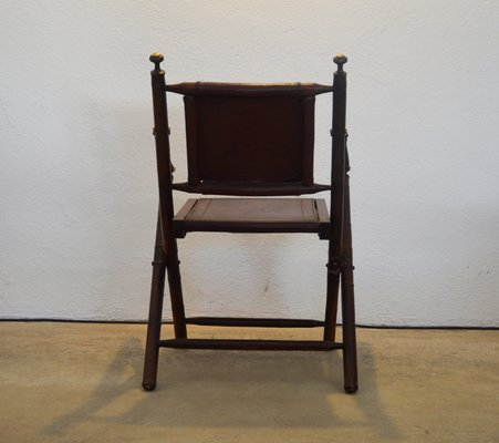 Prime Vintage Leather And Wood Desk Chair 1970S Pdpeps Interior Chair Design Pdpepsorg
