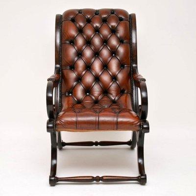 Surprising Regency Style Leather And Mahogany Armchair 1930S Frankydiablos Diy Chair Ideas Frankydiabloscom