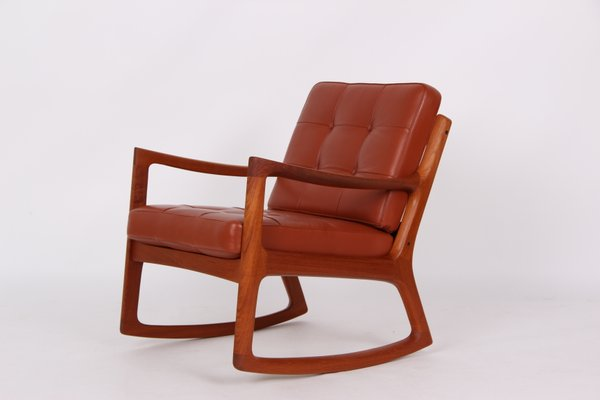 Super Model Senator Danish Rocking Chair By Ole Wanscher For France Son 1960S Gmtry Best Dining Table And Chair Ideas Images Gmtryco