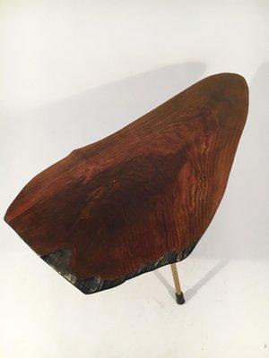Walnut Tree Trunk Table by Carl Auböck, 1950s