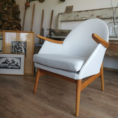 Mid-Century Timber Tub Chair, 1950s