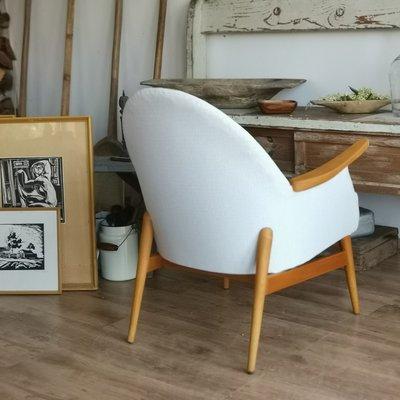 Awe Inspiring Mid Century Timber Tub Chair 1950S Evergreenethics Interior Chair Design Evergreenethicsorg