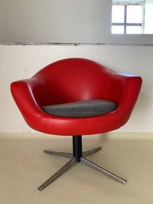 Prime Mid Century Vinyl Swivel Chair Unemploymentrelief Wooden Chair Designs For Living Room Unemploymentrelieforg