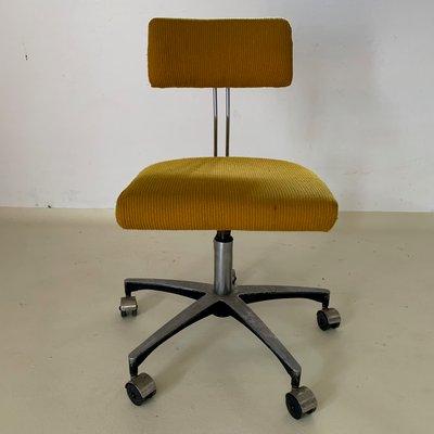 Magnificent Mid Century Adjustable Swivel Desk Chair Unemploymentrelief Wooden Chair Designs For Living Room Unemploymentrelieforg