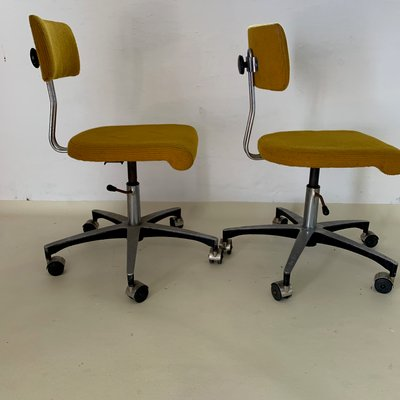 Awesome Mid Century Adjustable Swivel Desk Chair Gmtry Best Dining Table And Chair Ideas Images Gmtryco