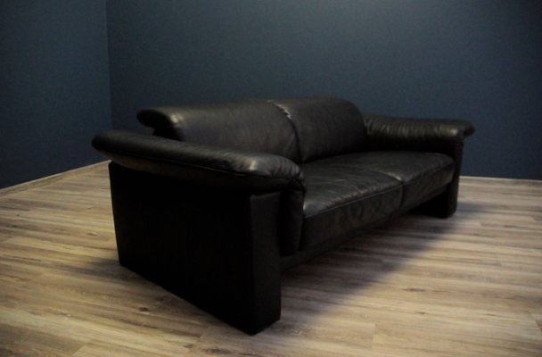 Mid Century German Leather Sofa From
