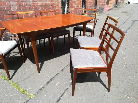 Teak Dining Table Chairs Set From Mcintosh 1969