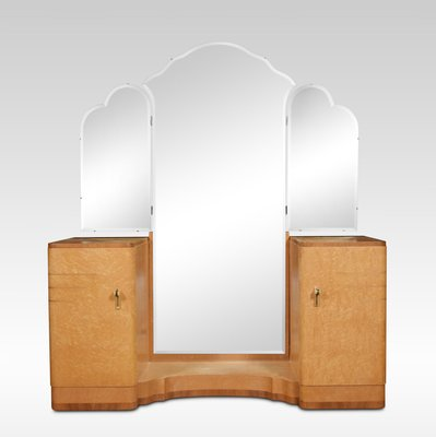 Art Deco Dressing Table With Mirror 1920s