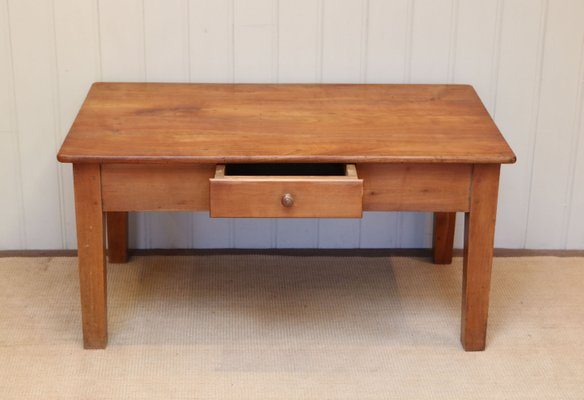 Cherry Wood Side Table For At Pamono, Cherry Wood Desks