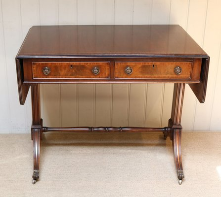 Fabulous Antique Mahogany Drop Leaf Sofa Table 1910S Andrewgaddart Wooden Chair Designs For Living Room Andrewgaddartcom