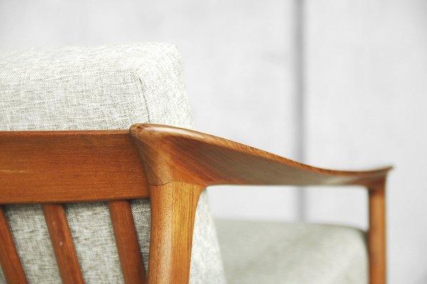 Remarkable Mid Century Swedish Teak Colorado Sofa By Folke Ohlsson For Bodafors 1960S Machost Co Dining Chair Design Ideas Machostcouk