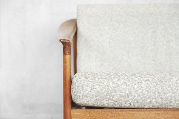 Outstanding Mid Century Swedish Teak Colorado Sofa By Folke Ohlsson For Bodafors 1960S Machost Co Dining Chair Design Ideas Machostcouk