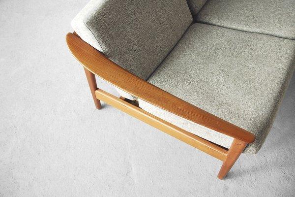 Superb Mid Century Swedish Teak Colorado Sofa By Folke Ohlsson For Bodafors 1960S Machost Co Dining Chair Design Ideas Machostcouk