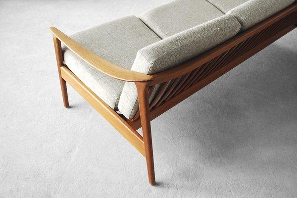 Awe Inspiring Mid Century Swedish Teak Colorado Sofa By Folke Ohlsson For Bodafors 1960S Machost Co Dining Chair Design Ideas Machostcouk