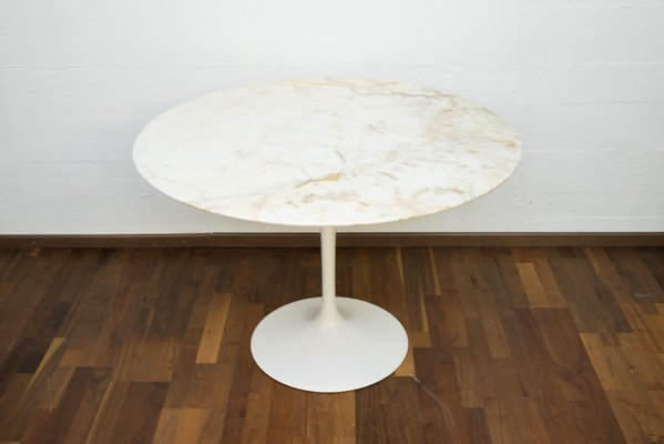 info for 6c080 27f7c Vintage Marble Tulip Dining Table by Eero Saarinen for Knoll International