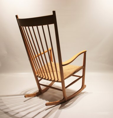 Surprising Scandinavian Modern Danish J16 Rocking Chair By Hans J Wegner For Fredericia 1960S Unemploymentrelief Wooden Chair Designs For Living Room Unemploymentrelieforg