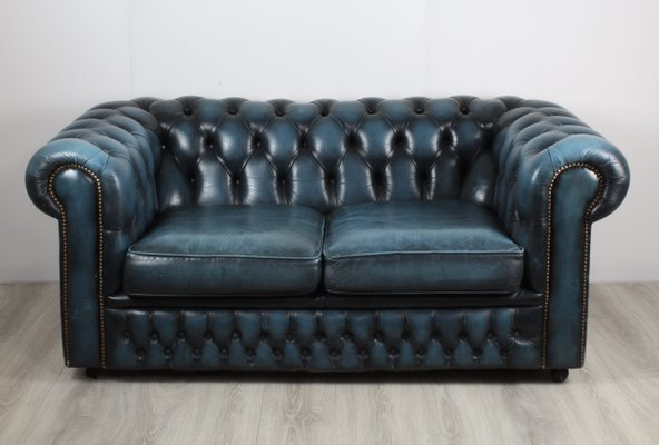 Marvelous Vintage Leather Chesterfield Sofa 1970S Download Free Architecture Designs Scobabritishbridgeorg