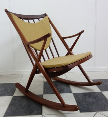 Brilliant Danish Teak Rocking Chair By Frank Reenskaug For Bramin 1960S Gmtry Best Dining Table And Chair Ideas Images Gmtryco