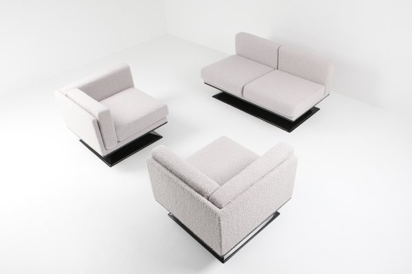 Cool Mid Century Modern Boucle Sofa By Luigi Pellegrin For Mim 1960S Gmtry Best Dining Table And Chair Ideas Images Gmtryco