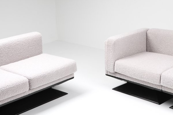 Amazing Mid Century Modern Boucle Sofa By Luigi Pellegrin For Mim 1960S Gmtry Best Dining Table And Chair Ideas Images Gmtryco