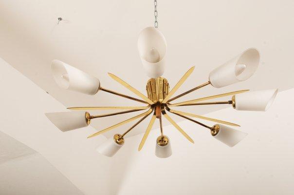 Gl Flush Mount Ceiling Lamp