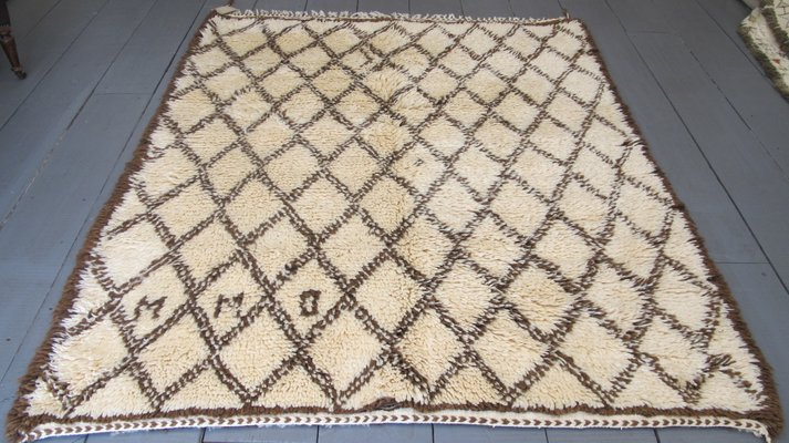 Welp Vintage Moroccan Beni Ourain Rug, 1950s for sale at Pamono OY-67