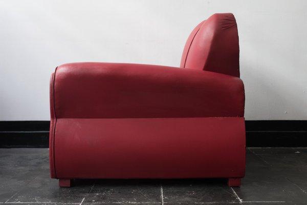 Miraculous Mid Century Italian Vinyl Lounge Chair Bed 1960S Uwap Interior Chair Design Uwaporg