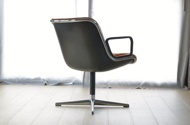Chaise Pollock pour Bureau Knoll de par Charles Inc1960s qVUpSzMG
