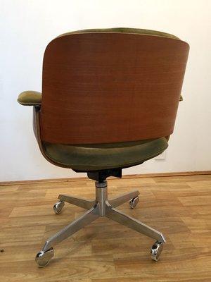 Et Hans De Könecke Pour Bureau D49 Par Cuir En TectaAllemagne1950s Chêne Chaise OnX0k8wP