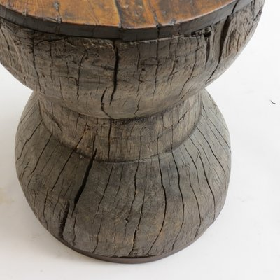 Pleasing Antique Hand Crafted Wooden Stool Gmtry Best Dining Table And Chair Ideas Images Gmtryco