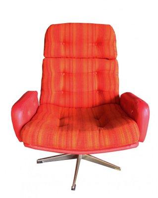 Magnificent Scandinavian Modern Aluminum And Fabric Lounge Chairs 1960S Set Of 2 Machost Co Dining Chair Design Ideas Machostcouk