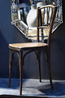 Chaise Courbé Bistrot De Antique En ThonetFrance Bois vNm80Own