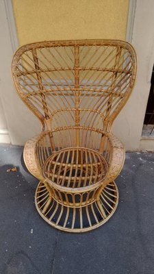 Set Giardino Rattan Ikea.Mid Century Lounge Chair By Lio Carminati For Casa E Giardino