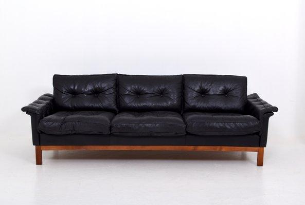 Sofa Cuero Ikea.Sofa Cardinal Mid Century De Cuero De Ikea Anos 70