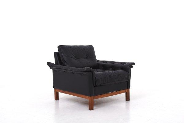 Sofa Cuero Ikea.Butaca Cardinal Mid Century De Cuero De Ikea Anos 70