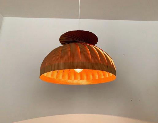 Deckenlampe aus Holz von Hans Agne Jakobsson für Hans Agne Jakobsson AB Markaryd, 1960er
