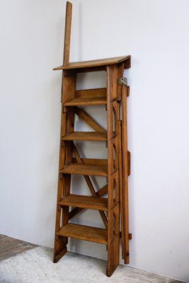 Stupendous Vintage Library Step Ladder Gmtry Best Dining Table And Chair Ideas Images Gmtryco
