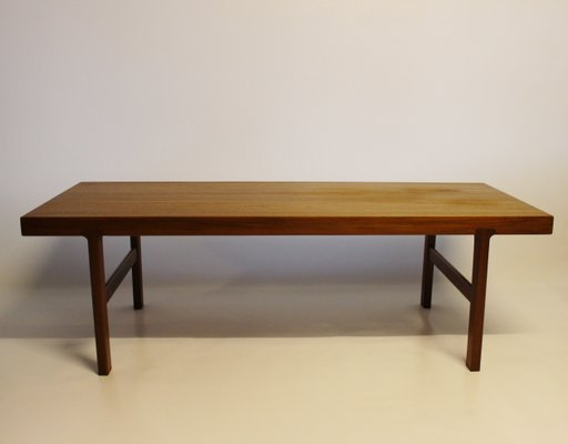Amazing Danish Modern Rosewood Coffee Table With Black Extension Leaf 1960S Inzonedesignstudio Interior Chair Design Inzonedesignstudiocom