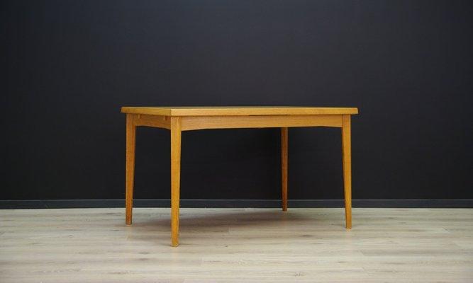 Surprising Mid Century Danish Ash Veneer Dining Table 1960S Download Free Architecture Designs Rallybritishbridgeorg