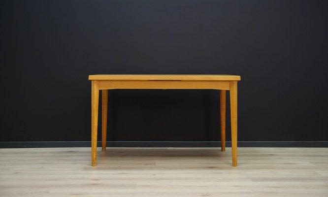 Pleasing Mid Century Danish Ash Veneer Dining Table 1960S Download Free Architecture Designs Rallybritishbridgeorg
