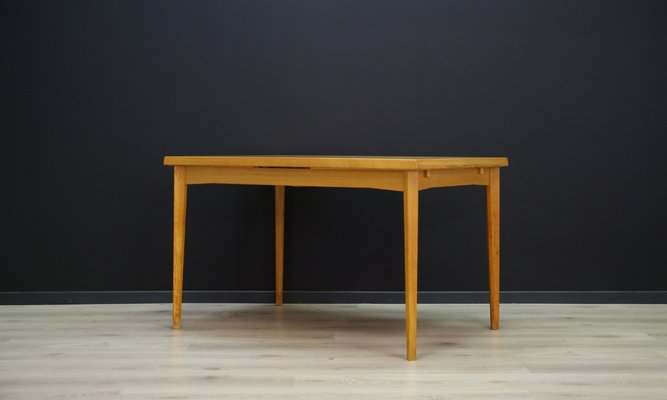 Brilliant Mid Century Danish Ash Veneer Dining Table 1960S Download Free Architecture Designs Rallybritishbridgeorg