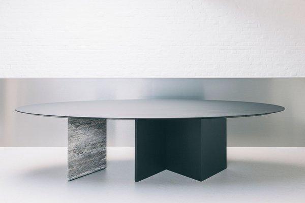 Tavolo da pranzo Ellipse 01.1 di Jeroen Thys van den Audenaerde per  barh.design
