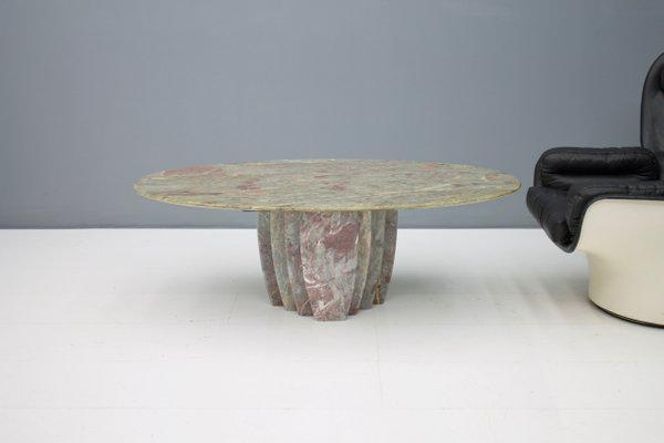 Vintage Italian Modern Marble Coffee Table, 1970s