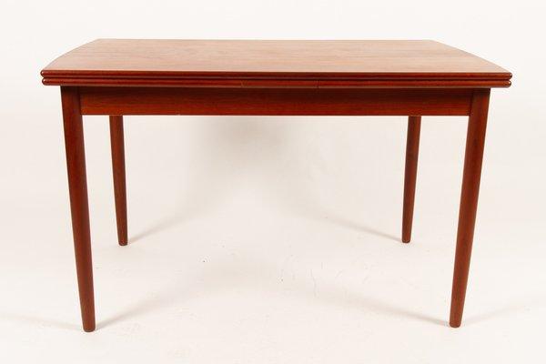 À Et De Salle Teck Manger Extensible En Century Placage1960s Mid Table 0kXPO8nw