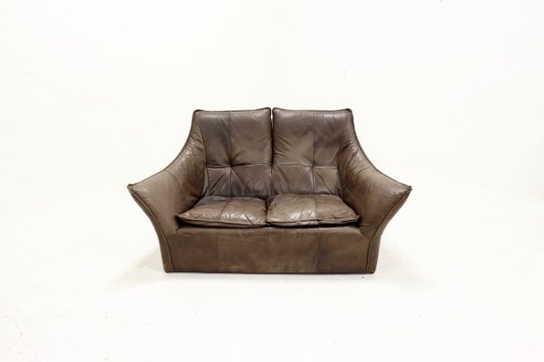 Wondrous Cow Leather Sofa By Gerard Van Den Berg For Montis 1970S Ncnpc Chair Design For Home Ncnpcorg