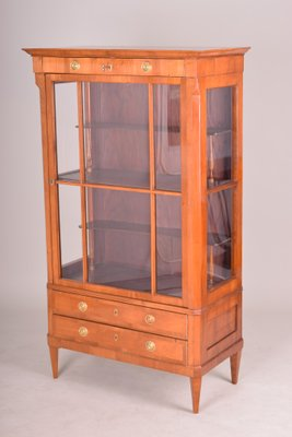Antique Biedermeier Cherry Display